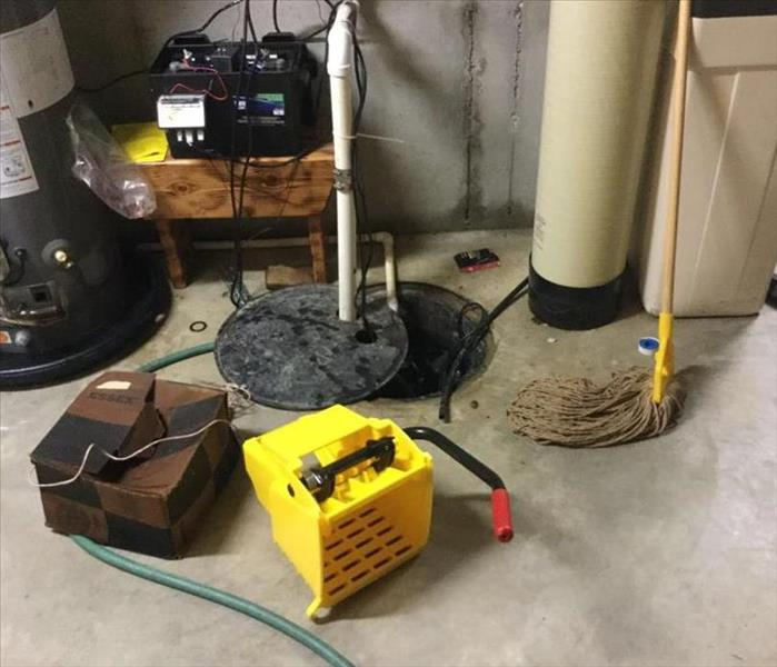 Water loss to home in Indianapolis Before