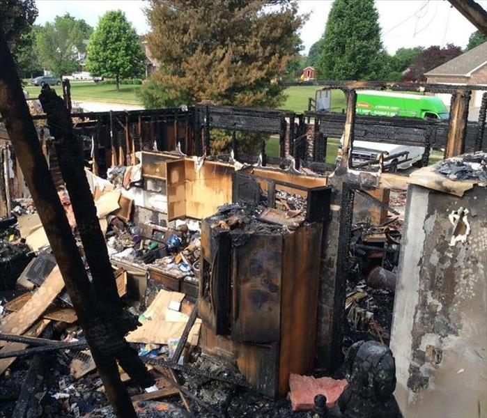 Fire causes extensive damage to home in Morgan County Indiana Home