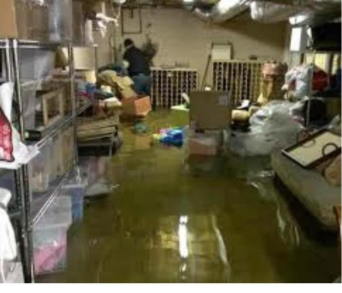 Water Damage Johnson County Residents:  We Specialize in Flooded Basement Cleanup and Restoration!