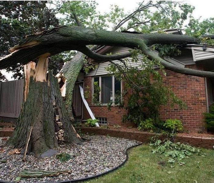 Storm Damage When Storms or Floods hit Greenwood, SERVPRO is ready!